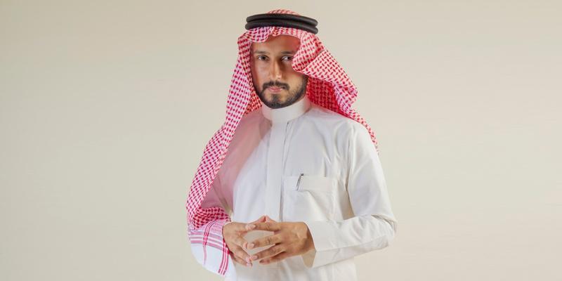 Arabic Head Scarf, سكارف الرأس العربي